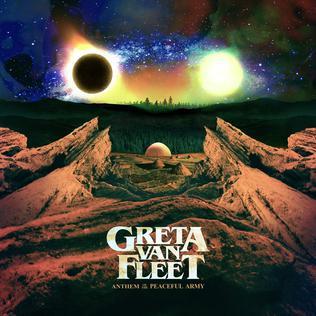 Resultado de imagen de Greta Van Fleet - Anthem of the Peaceful Army