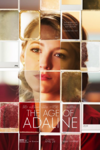 Poster for 2015 romantic drama The Age of Adaline