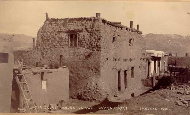Image result for oldest house santa fe