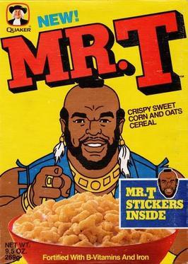 Mr T Cereal  Wikipedia