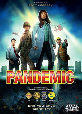 """Pandemic"" is also one of my favorite board games!"