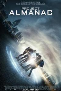Poster for 2015 found footage sci-fi Project Almanac