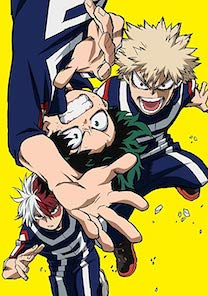 Boku No Hero Academia Season 2 Episode 11 : academia, season, episode, Academia, (season, Wikipedia