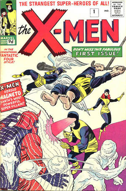 Magneto's first appearance in X-Men #1 (Sept. ...