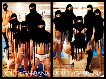 D&G image de Princess Hijab en couleur
