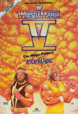 WrestleMania V  Wikipedia