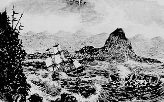 The Tonquin in 1811