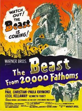 The Beast From 20,000 Fathoms (1953 - Warner Bros. Entertainment Inc.)