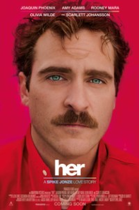 Poster for 2014 romantic drama Her