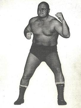 A photo of Canadian wrestler Skull Murphy whic...