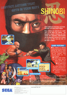 Shinobi video game  Wikipedia