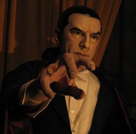 Bela Lugosi's Dracula at the Hollywood Wax Museum