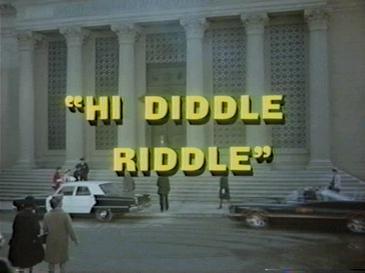 Hi Diddle Riddle Wikipedia