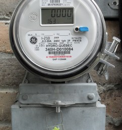 north american domestic electronic electricity meter [ 1666 x 2475 Pixel ]