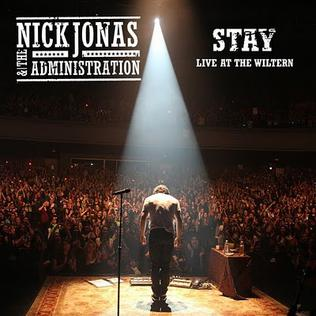 Stay Nick Jonas  the Administration song  Wikipedia