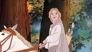 Legolas in Ralph Bakshi's animated version of ...
