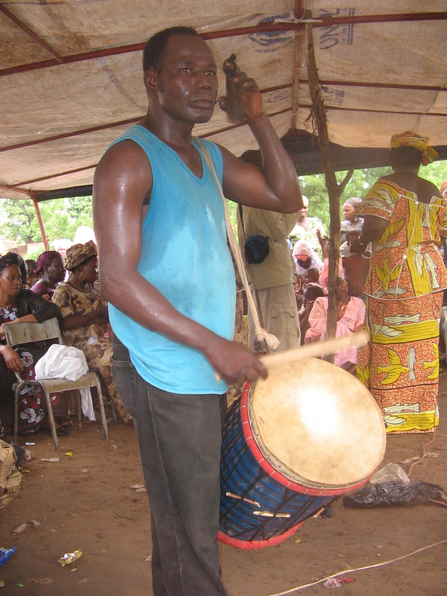 hight resolution of khassonka player in mali