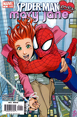 Image result for peter parker and mary jane comic