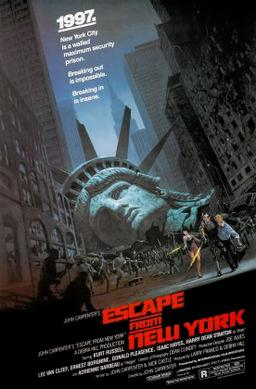 Escape from New York (AVCO Embassy Pictures - 1981)