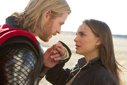 Natalie Portman as Jane Foster as depicted in ...
