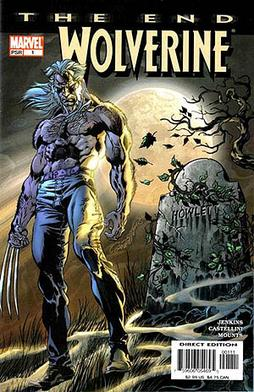 Wolverine: The End #1 cover