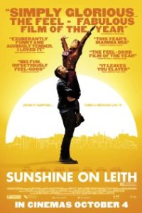 Poster for 2013 musical Sunshine On Leith
