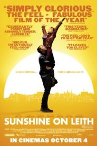 Poster for 2013 musical film Sunshine On Leith