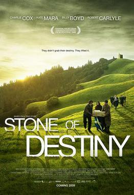 Poster for Charles Martin Smiths Stone of Destiny, based on Ian Hamiltons story.