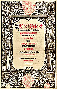 Cranmer's Prayer book of 1552.