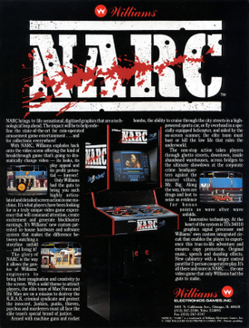 Narc video game  Wikipedia