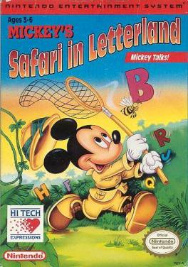 Mickeys Safari in Letterland  Wikipedia