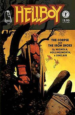 Cover by Mignola
