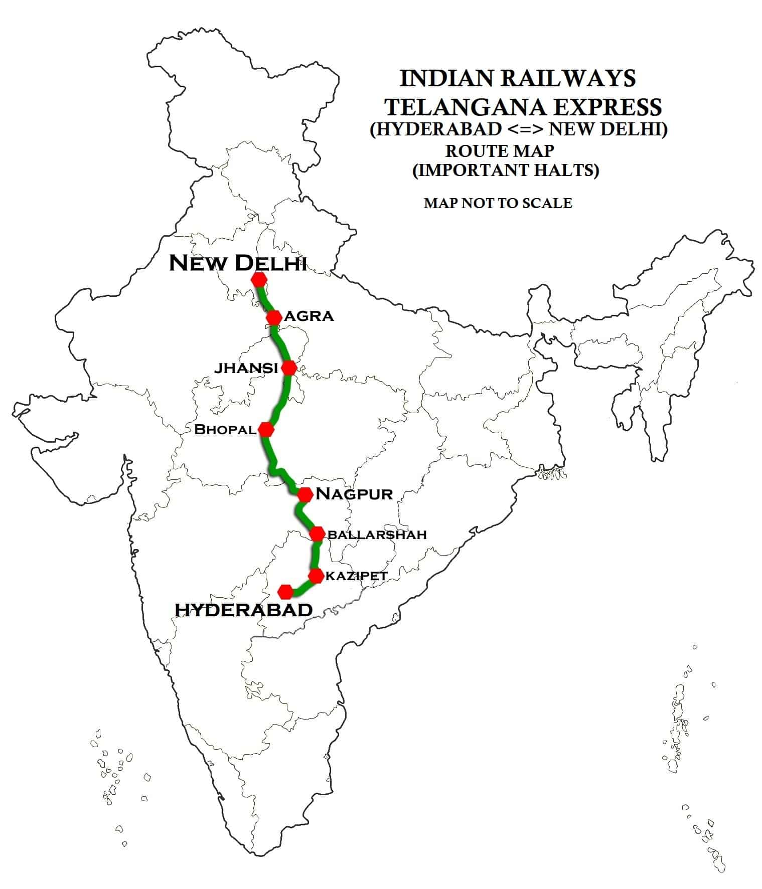 File Telangana Express Route Map
