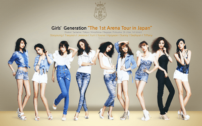 Girl New Wallpaper Hd The First Japan Arena Tour Girls Generation Wikipedia