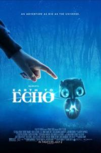 Poster for 2014 sci-fi Earth to Echo