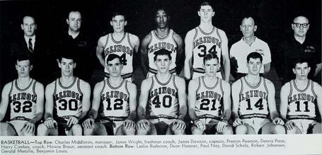196667 Illinois Fighting Illini Mens Basketball Team