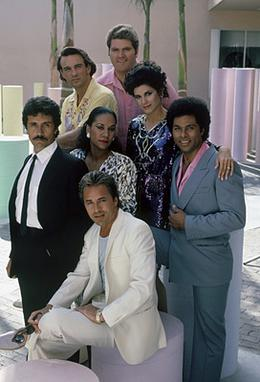 The cast members of Miami Vice (from left to r...