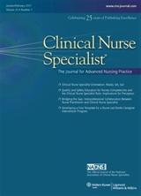 Clinical Nurse Specialist journal  Wikipedia