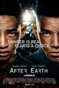 Poster for 2013 sci-fi actioner After Earth