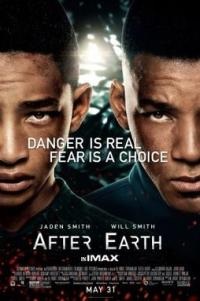 Poster for 2013 sci-fi film After Earth