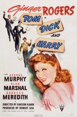Tom Dick and Harry 1941 film  Wikipedia