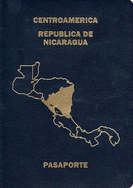 Nicaraguan passport  Wikipedia