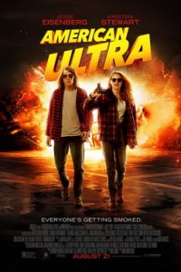 Poster for 2015 comedy actioner American Ultra