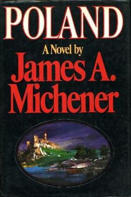 James Michner's Poland 1st Edition