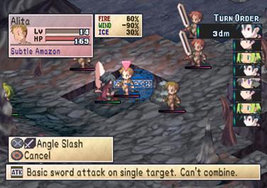 Turn Order in Phantom Brave on PS2