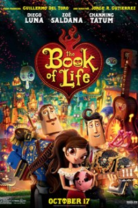 Poster for 2014 animation The Book of Life