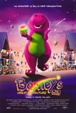 Barney & Friends If The Shoe Fits : barney, friends, Barney's, Great, Adventure, Wikipedia