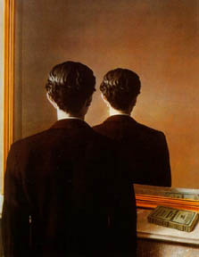 Portrait of Edward James, by René Magritte