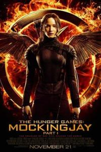 Poster for 2014 young adult actioner The Hunger Games: Mockingjay - Part 1