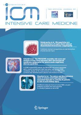 Intensive Care Medicine journal  Wikipedia
